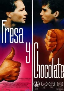 Morango e Chocolate - Poster / Capa / Cartaz - Oficial 1