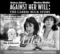 A História de Carrie Buck - Poster / Capa / Cartaz - Oficial 1