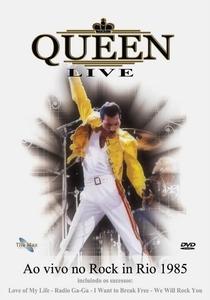 Queen - Ao Vivo no Rock In Rio 1985 - Poster / Capa / Cartaz - Oficial 1