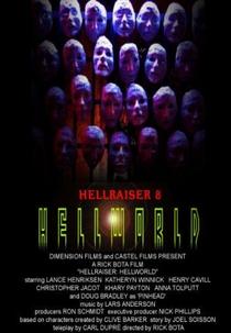 Hellraiser 8: O Mundo do Inferno - Poster / Capa / Cartaz - Oficial 2