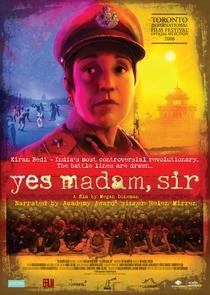 Sim Senhora, Senhor - Poster / Capa / Cartaz - Oficial 1