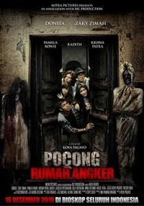 Pocong rumah angker  - Poster / Capa / Cartaz - Oficial 1