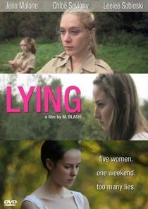 Lying - Poster / Capa / Cartaz - Oficial 1