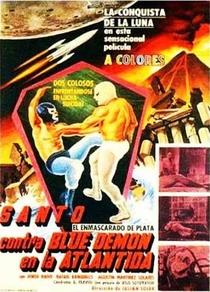 Santo Contra Blue Demon em Atlântida - Poster / Capa / Cartaz - Oficial 1