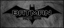 Batman: Death Wish - Poster / Capa / Cartaz - Oficial 1