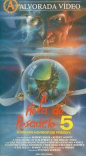 A Hora do Pesadelo 5: O Maior Horror de Freddy - Poster / Capa / Cartaz - Oficial 5