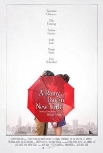 Um Dia de Chuva em Nova York - Poster / Capa / Cartaz - Oficial 2