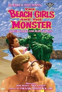 The Beach Girls and the Monster - Poster / Capa / Cartaz - Oficial 1