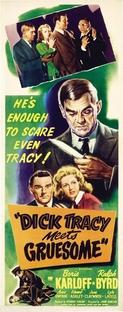 Dick Tracy Contra o Monstro - Poster / Capa / Cartaz - Oficial 2
