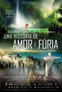 Uma História de Amor e Fúria - Poster / Capa / Cartaz - Oficial 2