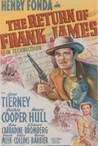 O Retorno de Frank James - Poster / Capa / Cartaz - Oficial 2