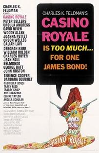 Cassino Royale - Poster / Capa / Cartaz - Oficial 1