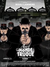 Abril e o Mundo Extraordinário  - Poster / Capa / Cartaz - Oficial 4