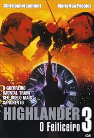 Highlander 3 - O Feiticeiro - Poster / Capa / Cartaz - Oficial 2