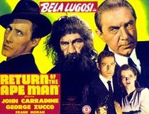 A Volta do Homem-Gorila - Poster / Capa / Cartaz - Oficial 1