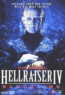 Hellraiser IV - Herança Maldita - Poster / Capa / Cartaz - Oficial 2