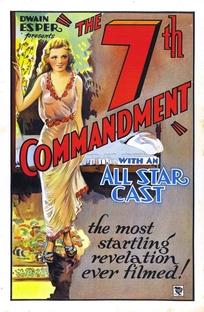 The Seventh Commandment - Poster / Capa / Cartaz - Oficial 1