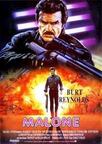 Malone - O Justiceiro    - Poster / Capa / Cartaz - Oficial 1