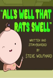 Adventure Time: All's Well That Rats Swell  - Poster / Capa / Cartaz - Oficial 1