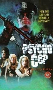 Psycho Cop 2: O Retorno Maldito - Poster / Capa / Cartaz - Oficial 2