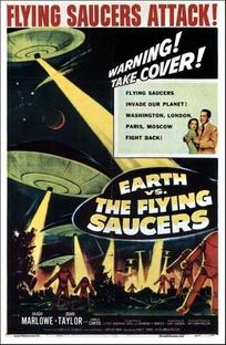 A Invasão dos Discos Voadores - Poster / Capa / Cartaz - Oficial 1