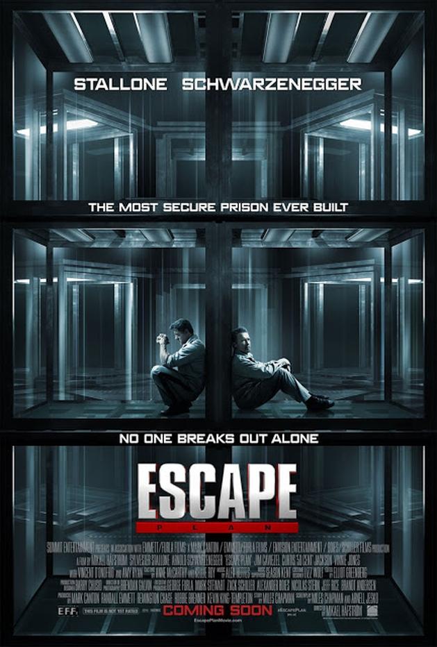 Arnold Schwarzenegger e Sylvester Stallone fogem da prisão no trailer de ESCAPE PLAN | LOUCOSPORFILMES.net