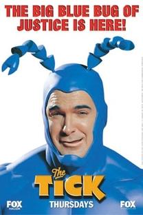 The Tick - O Carrapato - Poster / Capa / Cartaz - Oficial 1