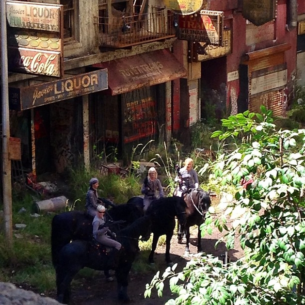 "Novas imagens dos bastidores de ""Dawn of the Planet of the Apes"" on line"