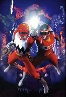 Seijuu Sentai Gingaman vs. Megaranger - Poster / Capa / Cartaz - Oficial 2