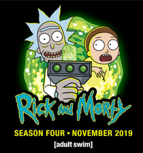 Rick and Morty (4ª Temporada) - Poster / Capa / Cartaz - Oficial 2