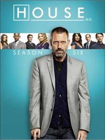 Dr. House (6ª Temporada) - Poster / Capa / Cartaz - Oficial 1