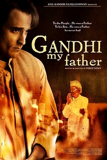 Gandhi, My Father - Poster / Capa / Cartaz - Oficial 4