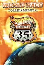 Hot Wheels Via 35 - Corrida Mundial - Poster / Capa / Cartaz - Oficial 1
