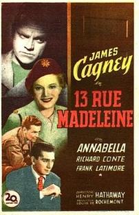 Rua Madeleine 13 - Poster / Capa / Cartaz - Oficial 2