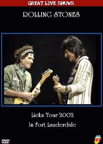 Rolling Stones - Fort Lauderdale 2002 - Poster / Capa / Cartaz - Oficial 1