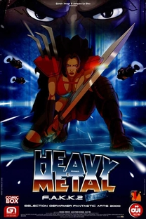 Heavy Metal 2000 - Poster / Capa / Cartaz - Oficial 2
