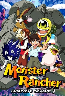 Monster Rancher (3ª Temporada) - Poster / Capa / Cartaz - Oficial 1