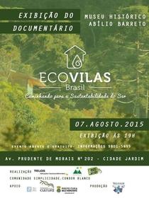 Ecovilas Brasil - Caminhando para a Sustentabilidade do Ser - Poster / Capa / Cartaz - Oficial 1