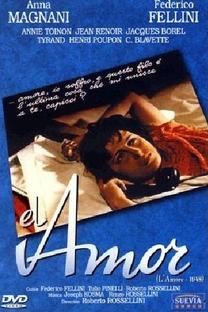 O Amor  - Poster / Capa / Cartaz - Oficial 3