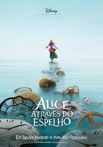 Alice Através do Espelho - Poster / Capa / Cartaz - Oficial 1