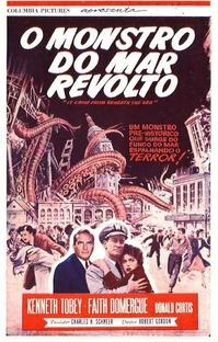 O Monstro do Mar Revolto - Poster / Capa / Cartaz - Oficial 3