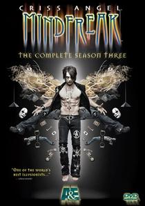Criss Angel: O Ilusionista 3ª temporada - Poster / Capa / Cartaz - Oficial 1