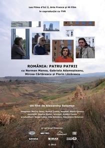 România: Patru Patrii - Poster / Capa / Cartaz - Oficial 1