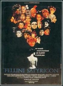 Satyricon de Fellini - Poster / Capa / Cartaz - Oficial 5
