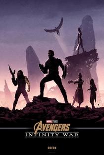 Vingadores: Guerra Infinita - Poster / Capa / Cartaz - Oficial 38