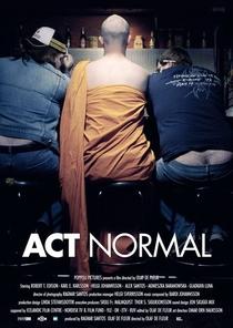 Act normal - Poster / Capa / Cartaz - Oficial 1
