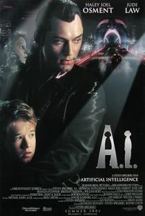 A.I. Inteligência Artificial - Poster / Capa / Cartaz - Oficial 3