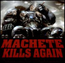 Machete Mata Outra Vez... No Espaço! - Poster / Capa / Cartaz - Oficial 1