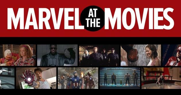 Infográfico lista todos os filmes da Marvel no cinema de 1986 até 2015