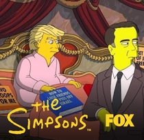 Os Simpsons - 125 Days - Donald Trump Makes One Last Try To Patch Things Up With Comey - Poster / Capa / Cartaz - Oficial 1